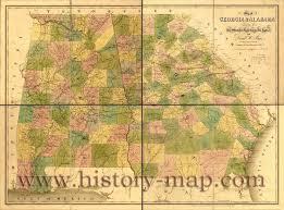Maps Of Georgia Map Of Georgia And Alabama