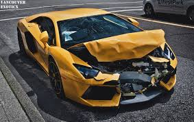 yellow lamborghini aventador for sale lamborghini aventador crashes in vancouver gtspirit