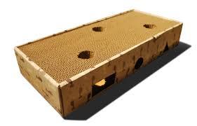 Cat Scratchers Cardboard Cat Toy Box And Cardboard Scratcher With Jingle Balls U2013 Feline Be Mine