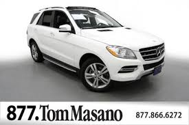 mercedes m suv used mercedes m class at tom masano auto inc serving