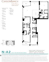 Brickell On The River Floor Plans Canyon Ranch North One Miami Homes