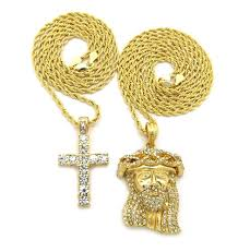 jesus cross gold necklace images Cheap gold chain with cross find gold chain with cross deals on jpg
