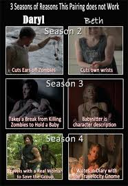Walking Dead Daryl Meme - beth daryl that ship has sailed the walking dead know your meme