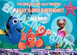 shark birthday invitations finding nemo birthday invitations u2013 gangcraft net