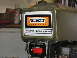o t craftsman drill press tiny belt the h a m b