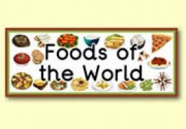 food from around the world ks1 food recipe