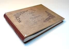 engraved wedding album buy a made personalized custom engraved wedding album