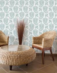 stenciling revival wallpaper u0027without the commitment u0027 portland