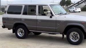 toyota cruiser 1989 toyota land cruiser fj62 for sale by tlc youtube