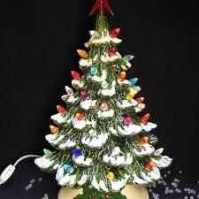 ceramic christmas tree with lights ceramic christmas tree lights b