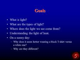 what is light in science 5 light and temperature astronomy the science of seeing ppt download