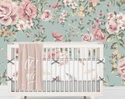 floral wallpaper etsy