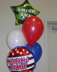 welcome home balloon bouquet welcome back balloons