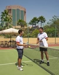 lighted tennis courts near me night lighted tennis courts picture of gulf hotel bahrain