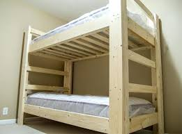 A Frame Bunk Bed How To Build A Bunk Bed Frames Small Home Ideas