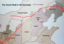 Tianjin China Map China Great Wall In The Qin Dynasty 長城 Pinterest China