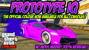 gta online rare modded rgb car colours my most insane paint