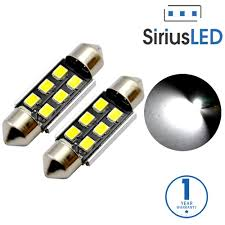 Led Light Bulbs For Car Interior by Siriusled Super Bright 2835 Chipset Canbus Error Free Led Festoon