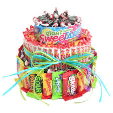 candy gift baskets candy cake hayneedle