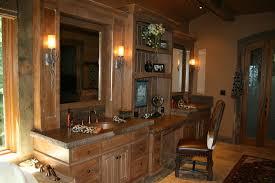 bathroom modern bathroom design with rustic decoration idea