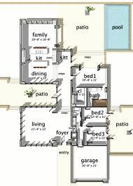 houseplans com modern main floor plan plan 64 173 floor plans