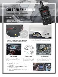 amazon com car code reader launch 6001 obd2 scanner scan tool