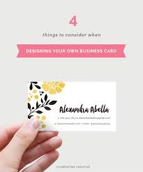 Business Cards Own Design Tips For Designing Your Own Business Card Part 1