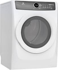 Propane Clothes Dryers Electrolux Efmg517siw 27 Inch 8 0 Cu Ft Gas Dryer With Moisture