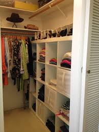 Home Storage Ideas by Decorating Elegant Dark Brown Lowes Closet Systems With Hanging