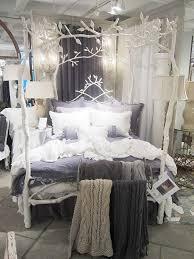 Tree Bed Frame Bedroom Decorating Ideas Purple Grey Oak Laminate
