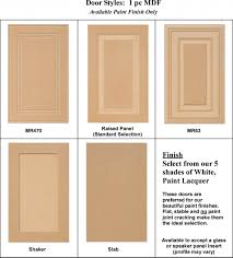 Standard Size Cabinet Doors by Cabinet Door Styles Adorable Ideas With Replacement Kitchen Doors