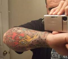 rod gambling sleeve again tattoo