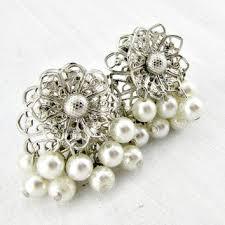 Vintage Pearl Chandelier Earrings Best Costume Jewelry 1950s 1960s Products On Wanelo