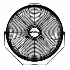high cfm industrial fans air king 9312 12 1360 cfm 3 speed industrial grade multi mount fan