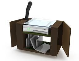 xbox 360 storage unit by sam wilkinson at coroflot com