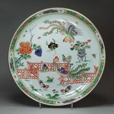 chinese kangxi famille verte porcelain