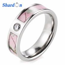 pink camo wedding rings popular camo wedding rings buy cheap camo wedding rings lots from