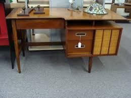 danish modern secretary desk danish modern desk braxton and yancey mid century danish modern