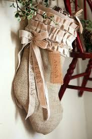 burlap christmas burlap christmas cotton ruffles custom personalized