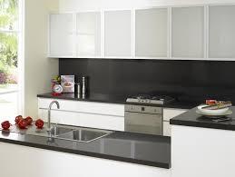 white kitchen cupboards black bench ddiftmbk50 diy design ideas for top modern black kitchens