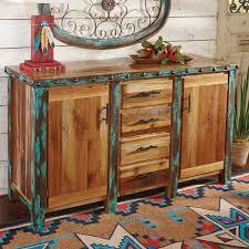 azul barnwood buffet cabinet
