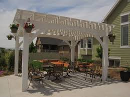 Outdoor Pergola Kits by 14 Wonderfully White Outdoor Shade Structures Western Timber Frame