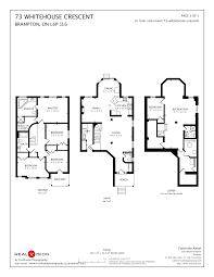 white house floor plan 73 whitehouse crescent