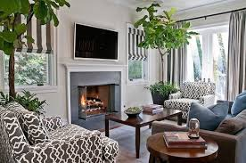 living room trees artificial trees for interior design beautiful charming fake
