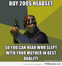 Gamer Memes - funny gamer who slept with your mother meme pmslweb