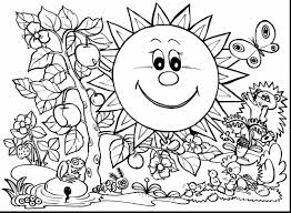 unbelievable spring coloring pages with spring coloring pages to