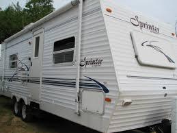 Sprinter Travel Trailer Floor Plans by 2002 Keystone Sprinter 259rbs Travel Trailer Rutland Ma Manns Rv