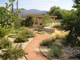 Pergola Landscaping Ideas by Backyard Xeriscape Garden Pergola Fireplace Backyard Landscaping
