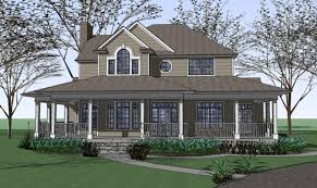 Floor Plans With Wrap Around Porch The 17 Best Two Story House Plans With Wrap Around Porch