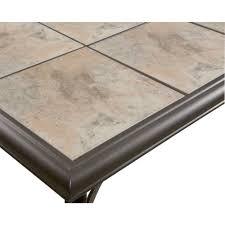 Tile Top Patio Table Belleville Fts80721 Ceramic Tile Top Outdoor Patio